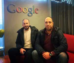 Google İstanbul Ofisindeyiz.