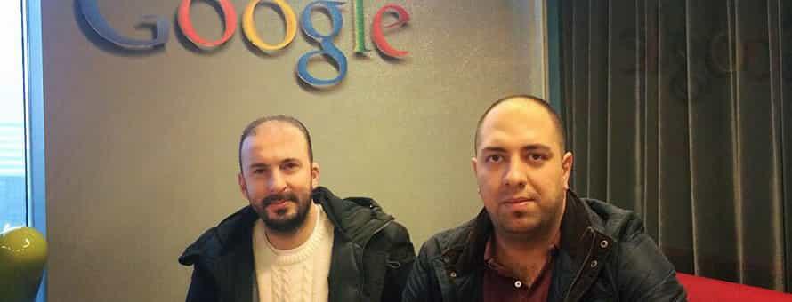 Google İstanbul Ofisinden Merhaba