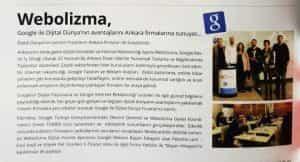 Webolizma Ankara Moda'da