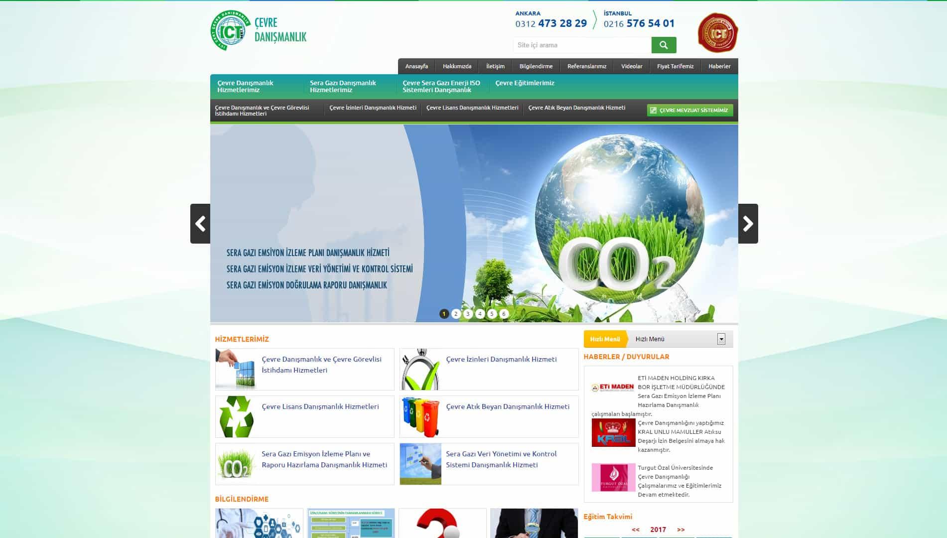 ICT Çevre Danışmanlık