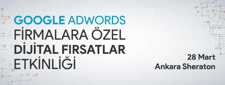 Google Adwords Dijital Fırsatlar Etkinliği İle Sheraton'dayız!