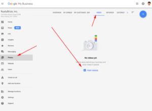 Google Benim İşletmem Video Yükleme Özelliği