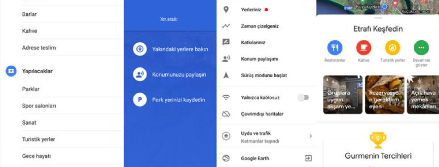 Google Haritalar Keşfet ile Yenilendi