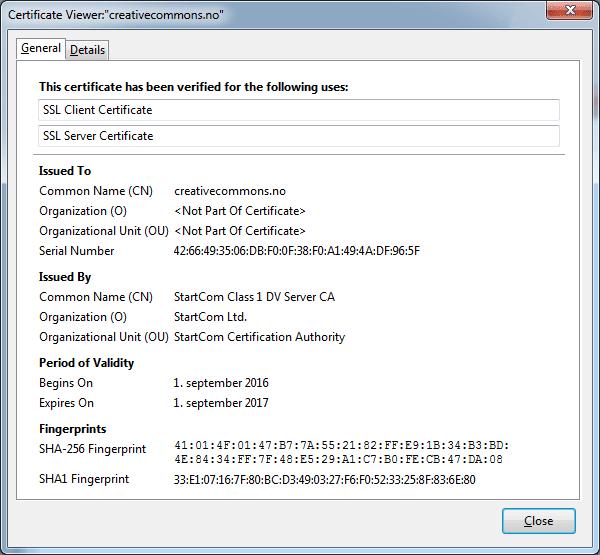 DV (Domain Validation) SSL