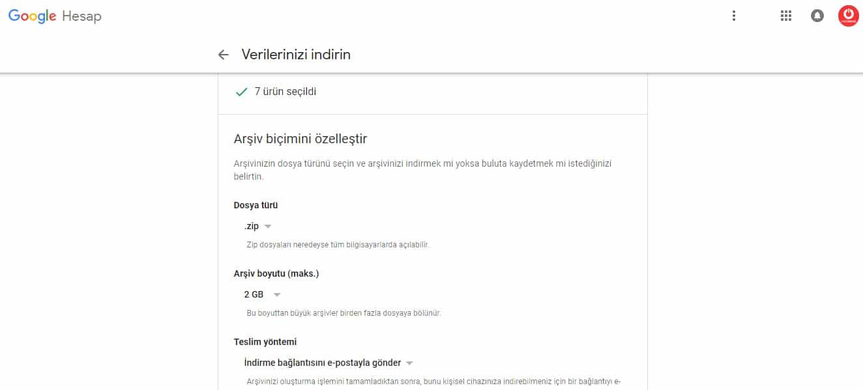 Google+ Google Takeout.2