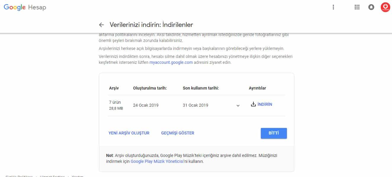 Google+ Google Takeout.3