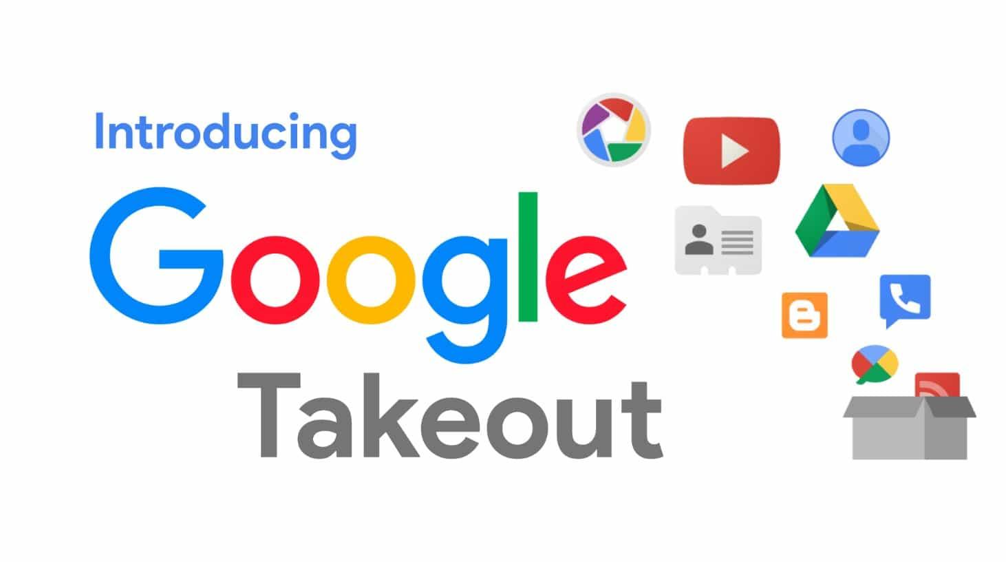 Google+ Google Takeout