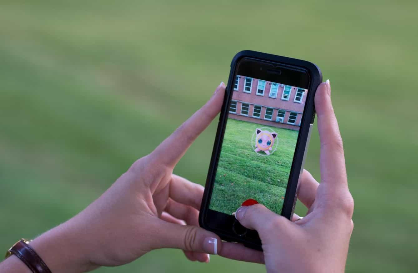Gerçeklik Pokemon Go JigglyPuff