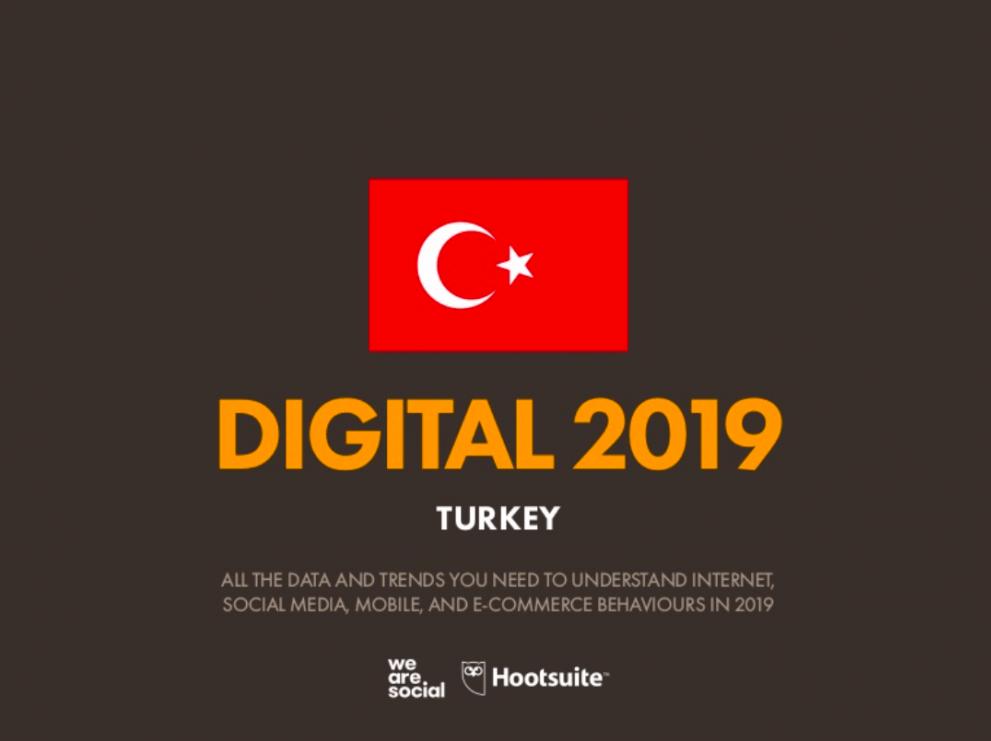 Digital 2019 Turkey