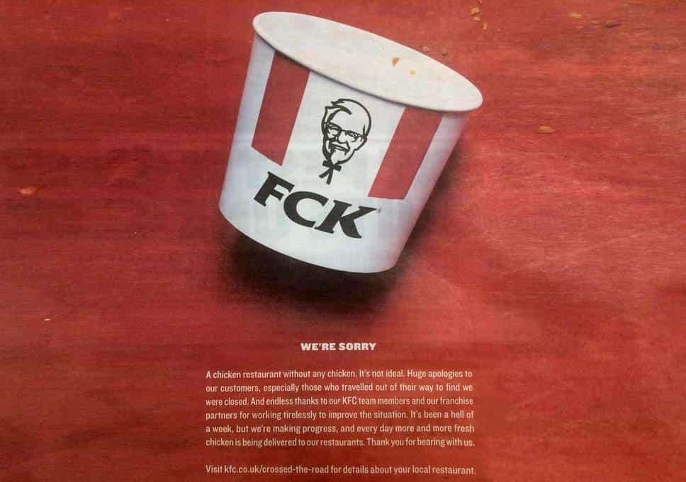 Gerçek Zamanlı Pazarlama KFC
