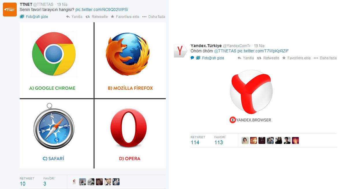 Gerçek Zamanlı Pazarlama Yandex