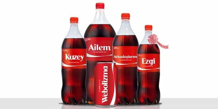 Kişiselleştirilmiş Pazarlama Coca Cola