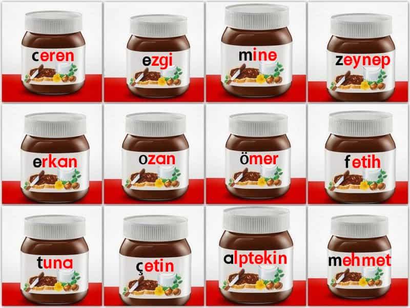 Kişiselleştirilmiş Pazarlama Nutella